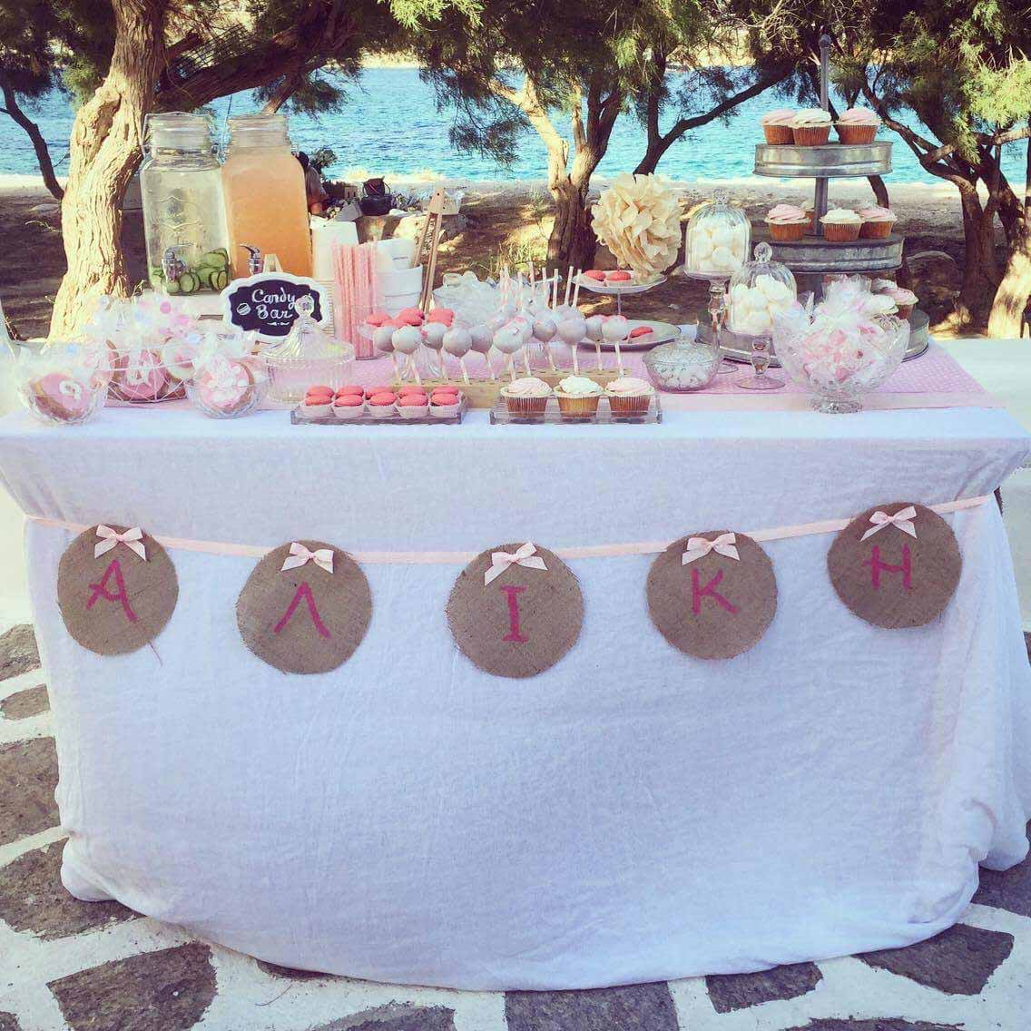 coffee and patisserie tserki paros candy bar