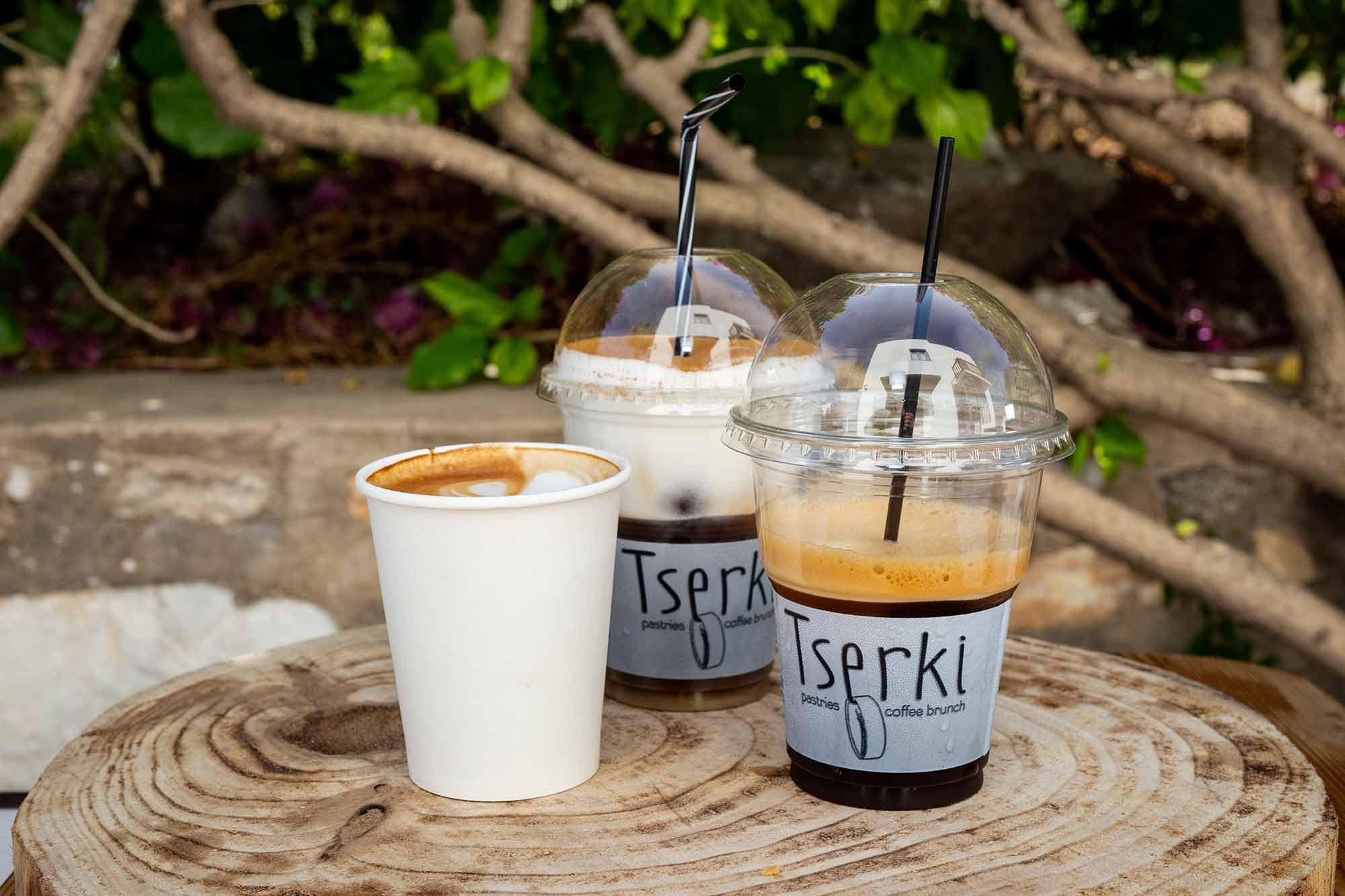 coffee and patisserie tserki paros